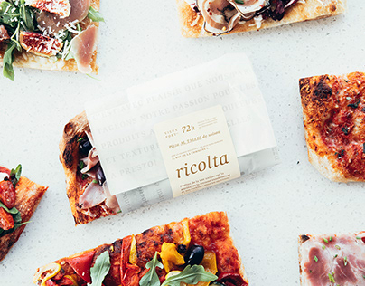 Ricolta Restaurant, Brand Identity and Packaging