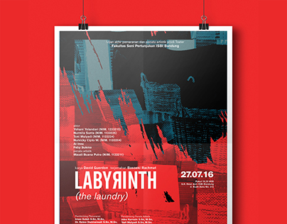 Labyrinth (the laundry) Poster Design