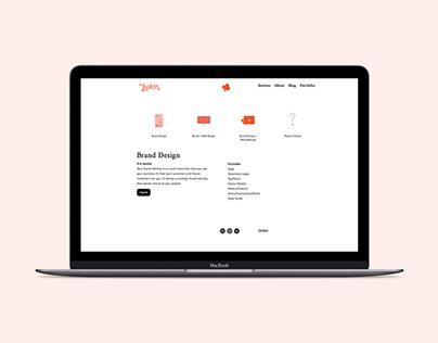 Laikin Studio // Naming, Brand & Web Design