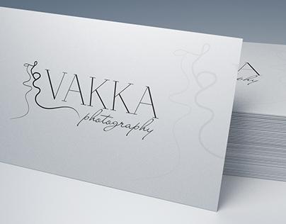 Logo and business card design for Viktor Vakka