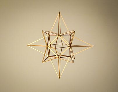 geometry: heart star