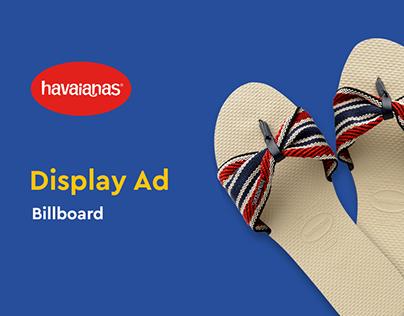 Da Havaianas para todas as mães - Billboard Ad