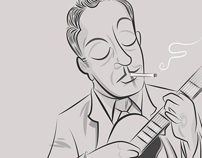 Django Reinhardt –Sketch