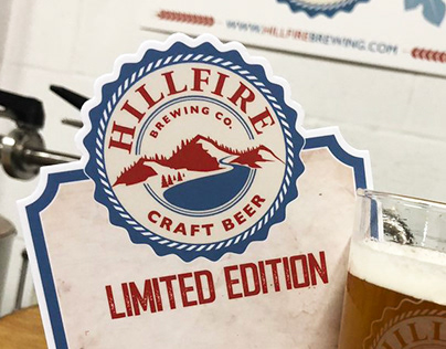 Hillfire Brewing Co. Brand Design