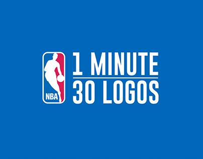 NBA: 1 MIN - 30 LOGOS
