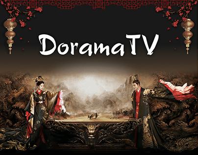 Концепт редизайна сайта DoramaTV asian serials, movies