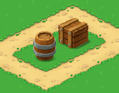 Tileset and props