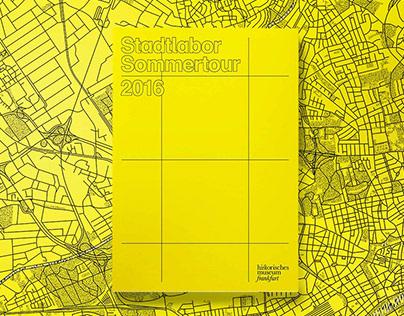 Stadtlabor Sommertour - Frankfurt Performance Festival