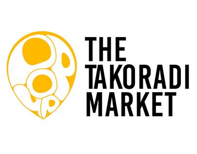 The takoradi market.