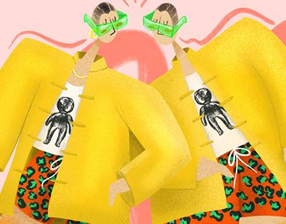 Fashion illustration III