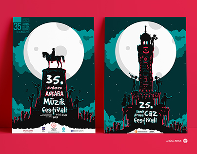 Ankara and İzmir Festival Posters