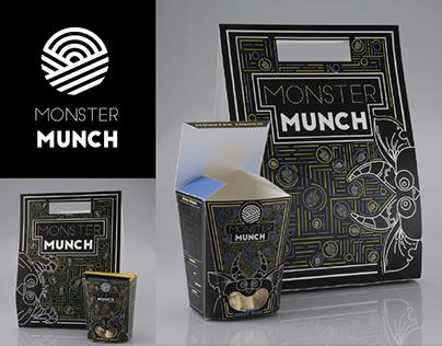 Packaging; Monster Munch Popcorn