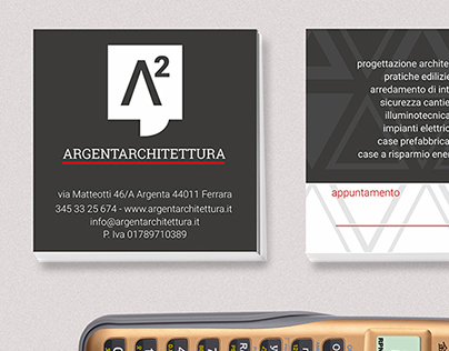Argenta Architettura - Logo Design