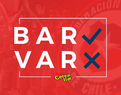 BAR SI, VAR NO - Cereal Bar