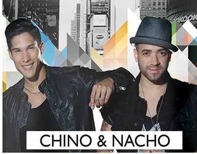 Rediseño Chino & Nacho Radio Universo Tour