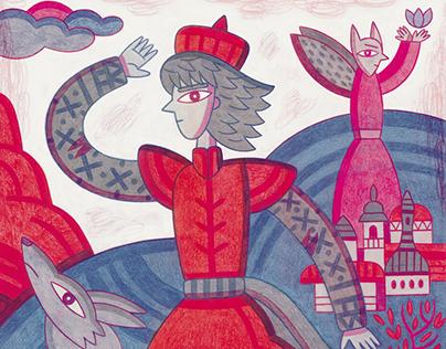 El mago rojo y la danza apocalíptica