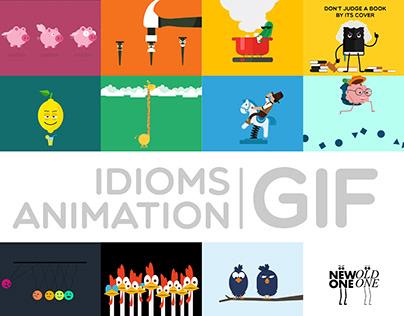 Idioms Animation GIF