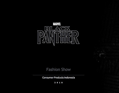 Creative Direction - Marvel Black Panther 2018