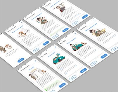 Иллюстрации для приложения по изучению английского