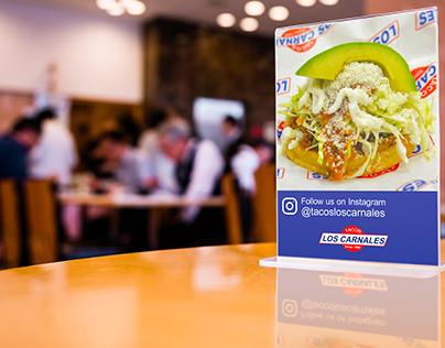 Tacos Los Carnales Social Media Branding