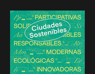 Ciudades Sostenibles   Poster