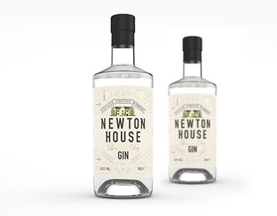 Newton House Gin Branding & Packaging Design