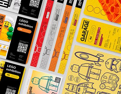 Graphic Design for LEGO exhibition