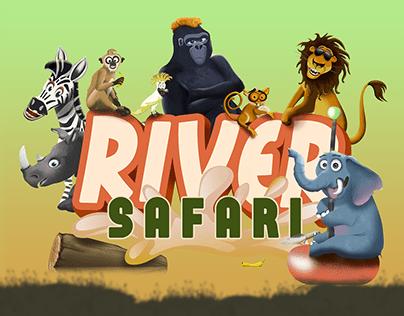 River Safari Concept art