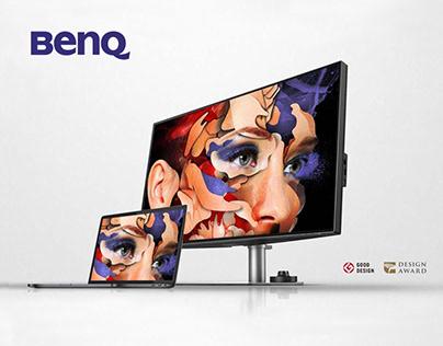 BenQ PD3220U DesignVue Monitor • Urania