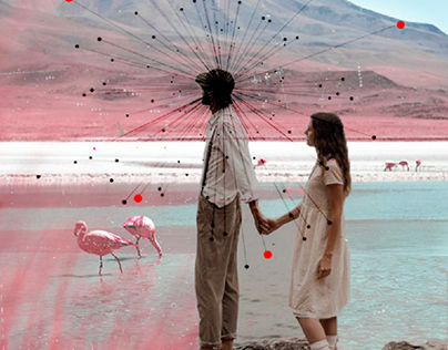 There is a pink love around us