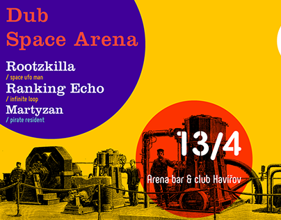 Dub Space Arena poster