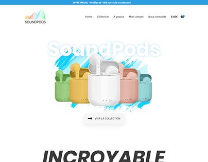 E-commerce - Wireless Earphone