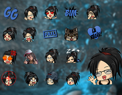 Twitch Identity: emotes, avatars, panels, sub badges,..