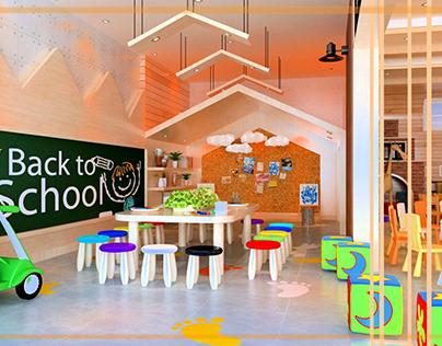 Kids Area In International School - EGYPT