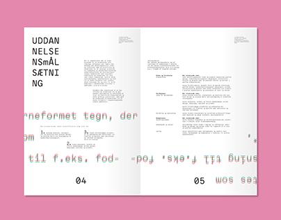 student curriculum   editorial design