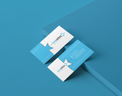 ICEALEX Business Card & Page Cover