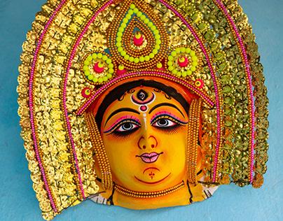 Chhau Mask Making