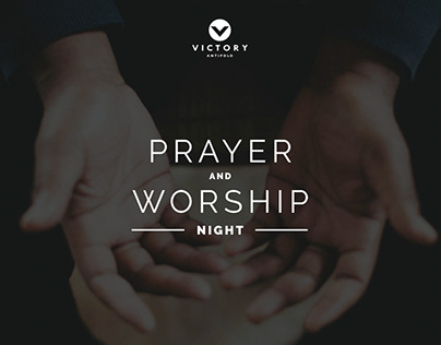 Prayer and Worship Night - Logo Design