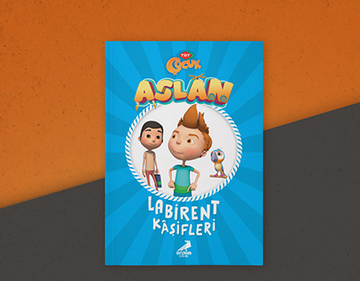 Children Book Cover Design | Aslan