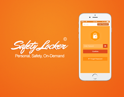 Safety Locker Mobile Application