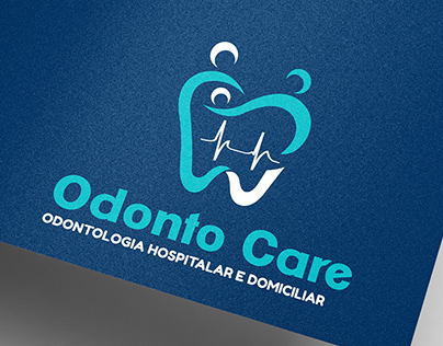 Identidade visual e instagram: Odonto Care