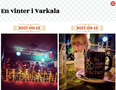 En vinter i Varkala