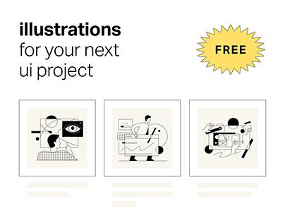 Free illustration pack