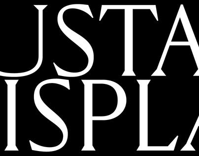 Custom type «GUSTAV DISPLAY»