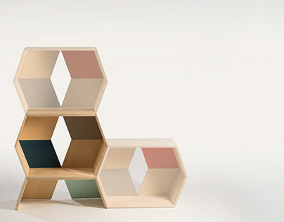 Stack Modular Shelves