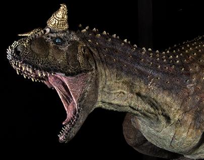 Diorama - Carnotaurus