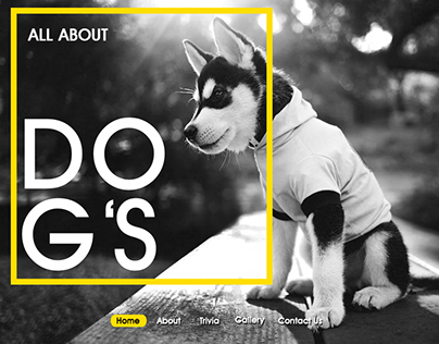 Dog's Website