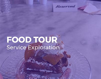 Service Exploration - Food Tour