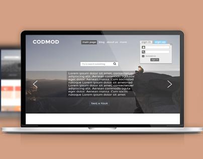 Design for website and blog