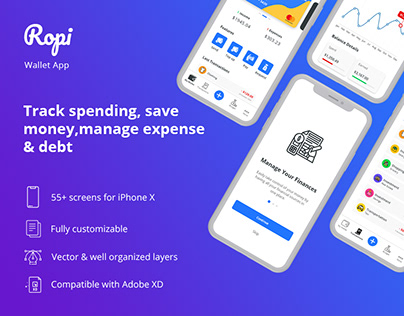 Ropi - Wallet UI Kit